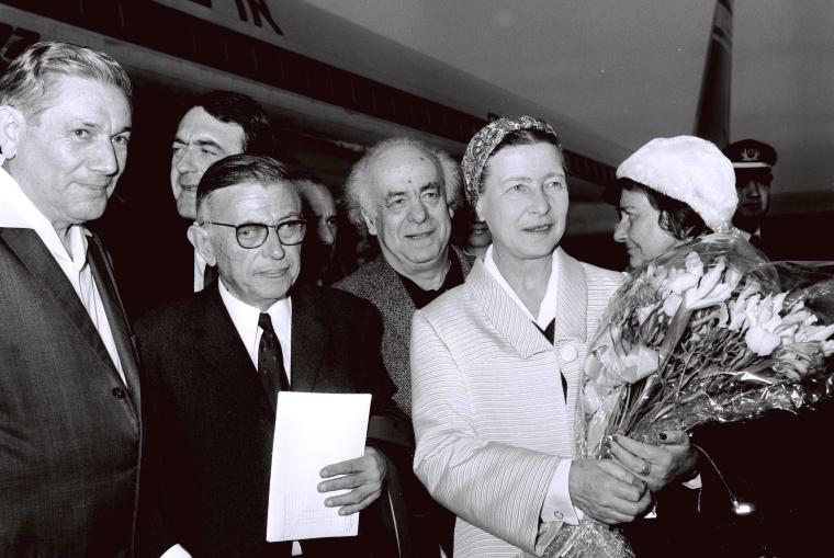 Beauvoir a Sartre