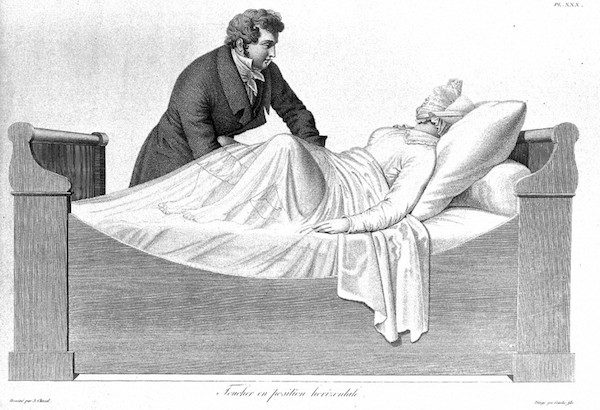 Léčebná metoda užívaná lékaři v historii